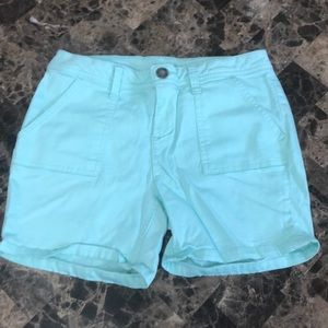 Justice Teal Shorts